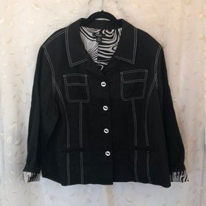 Adorable Black Jacket from Style and Co. - Size 22